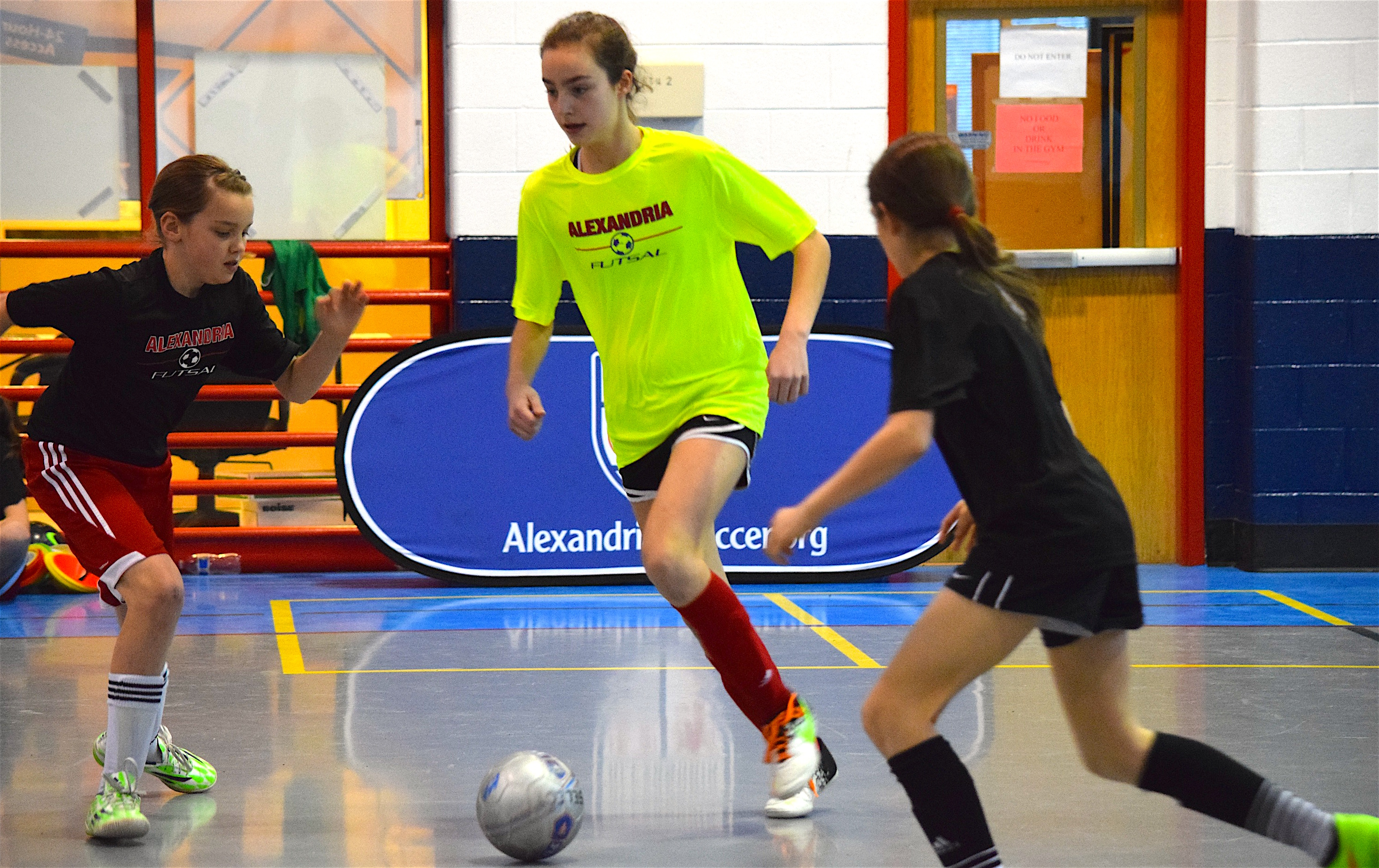 2016 Winter Futsal Skills Program is underway