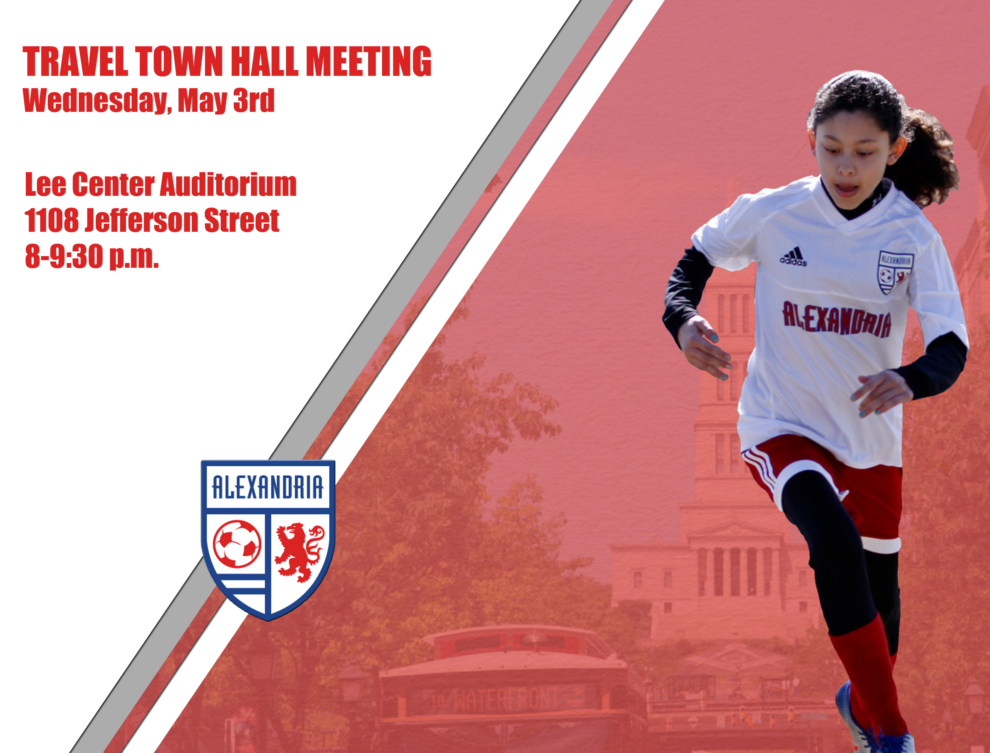 Travel Soccer Town Hall Meeting | Wed., May 3rd